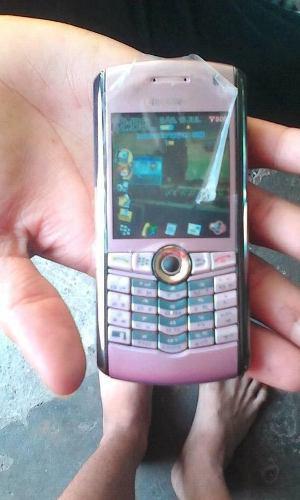 Blackberry perla 8100