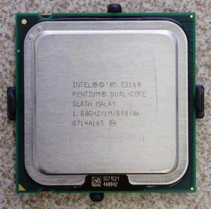 Procesador dual core pentium e2160 socket 775 32/64 1.80gh