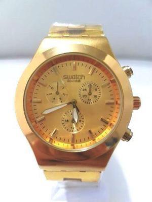 8d90959e1049 Reloj swatch dorado   REBAJAS Mayo