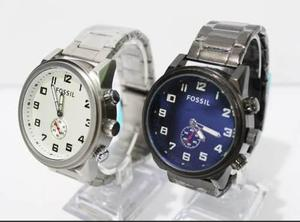 b1cde40f6bbf Relojes fossil acero caballero modelos 2018 casual elegante