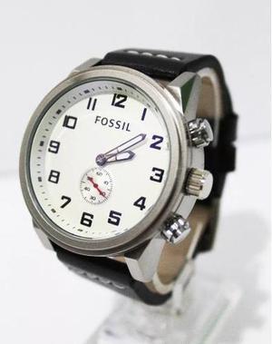 2002e11eade4 Relojes fossil cuero de caballero modelo casual 2018