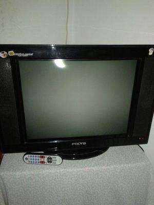 Usado, TELEVISOR PIXYS DE 21 PULGADAS A COLOR segunda mano  Sucre-Aragua (Aragua)