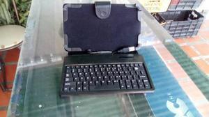 Vendo forro estuche y teclado para tablet 7 conexion usb
