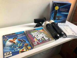Controles playstation 3 sony original ps3 move camara juegos