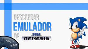 Emulador sega genesis + 330 juegos