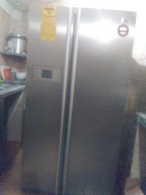 Nevera dos puertas lg usada en perfectas condiciones
