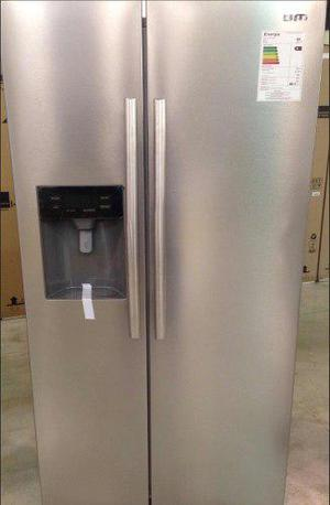 Nevera refrigerador side by side bm con dispensador