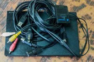 Play stations 2, accesorios, memoria de 8gb.