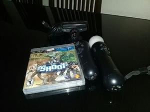 Sistema playstation move para ps3 con juego incluido