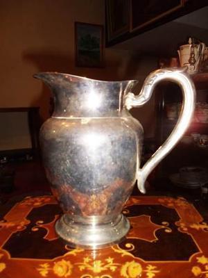 Antigua jarra silver plate marca oneida usa en buen estado