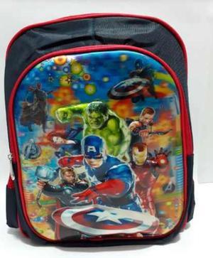 Morral bolso escolar para niños y niñas