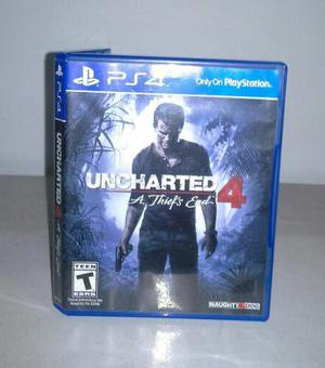 Uncharted 4. juego ps4