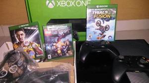 Xbox one 500 gb +3 juegos originales.