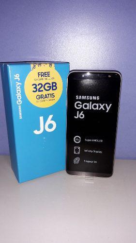 Teléfono samsung j6 2018 32gb y 2gb ram (entrega en tienda)
