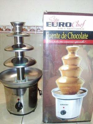 Fuente De Chocolate Marca Eurochef