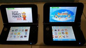Nintendo 3ds xl + 10 juegos + chip virtual