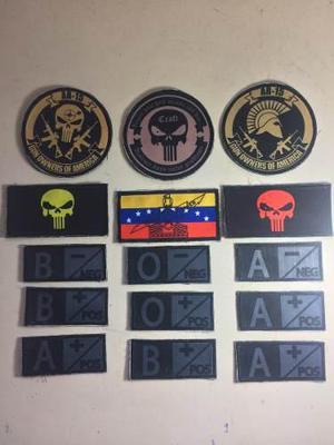 Parches, insignias militares para camisas, chalecos tacticos