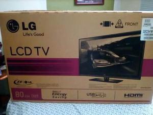 Tv lg lcd 32 nuevo en su caja televisor, tv plana 235 trum