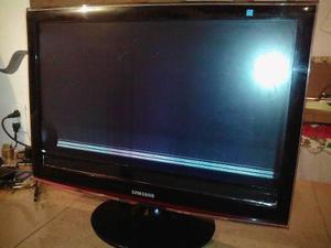 Tv samsung lcd syncmaster t240hd pantalla dañada