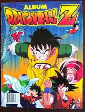 Album dragon ball z 1 y 2