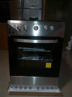 Cocina de 4 hornillas electrica y gas