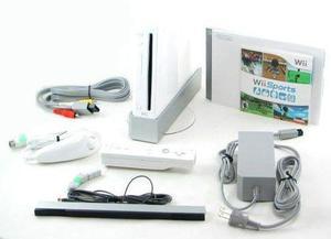 Combo consola wii + fit + 11 juegos + 3 control + volante