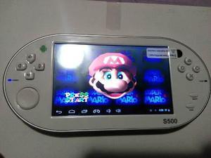 Consola de juegos portatil android tipo psp tablet nintendo