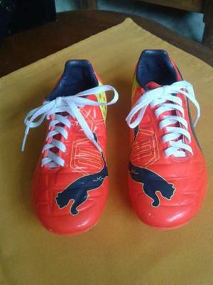 Tacos de fútbol campo puma evopower original! negociable