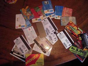 1000 tarjetas telefónicas variadas de venezuela