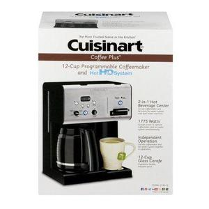 Cafetera cuisinart 12tzs con dispensador agua caliente(120$)