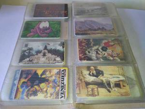 Colección tarjetas telefonicas cantv, mas de 150 tarjetas