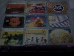 Coleccion de tarjetas telefonicas de cantv