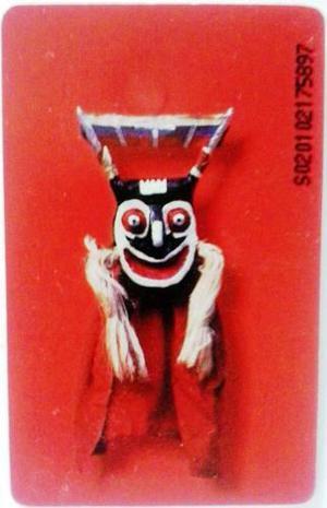 Coleccionable Tarjeta Cantv 2001 Diablos Danzantes De Chuao