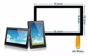 Mica tactil 30 pines para tablet q88 7. tienda fisica