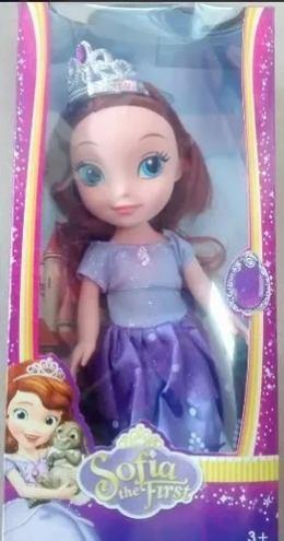 Muñeca canta princesa sofia juguete niñas muñecas