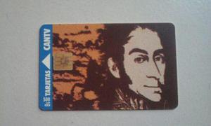 Sg2 Tarjeta Cantv Simon Bolivar.