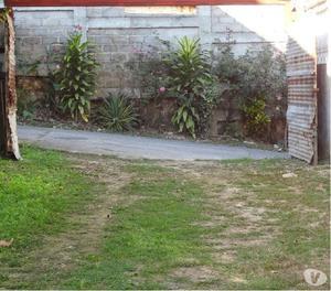 Terreno con casa en construccion colinas de turumo