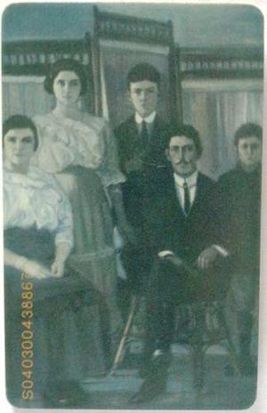 Tarjeta Cantv Usada 2003 La Familia
