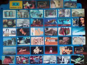 Tarjetas de cantv y telpago de coleccion-- negociable !!!