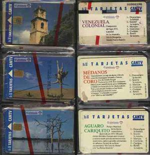 Tarjetas telefónicas cantv gemplus (phone cards cantv)