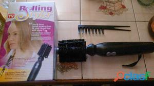 se vende cepillo giratoro rolling styler usado