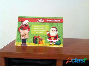 Diseño de tarjeta postal navideña con foto y mensaje