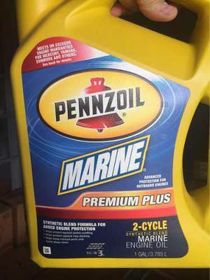 Aceite dos tiempos marino para motores fuera de borda penzoi