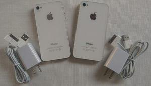 Iphone 4s white 16gb 3g liberado garantia tienda fisica