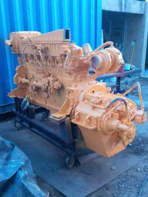 Motor caterpillar 3406 marino con caja 3:1 guascor completo