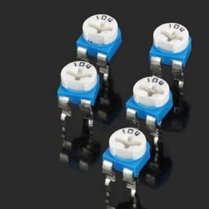 Pcs 5 horizontal ohm resistencia ajustable ajustable
