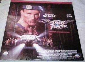 Street Fighter!!! Película Laserdisc