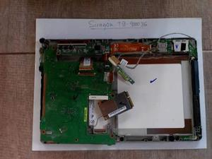 Tablet siragon tb-9000 3g repuestos