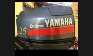 Motor lancha yamaha 25 hp 2004 c/tanque