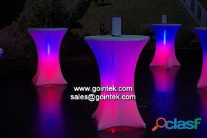 bar colores cambiantes silla mesa